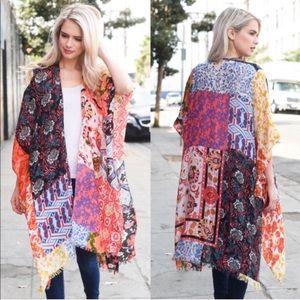 LAST - Boho Spring Kimono